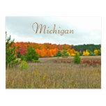 """Postcard, """"autumn Comes To Michigan"""" Postcard at Zazzle"""