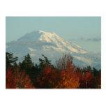 Postcard: Autumn Mt. Rainier