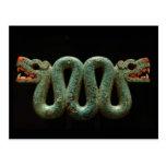 Postcard: Aztec serpent Postcard