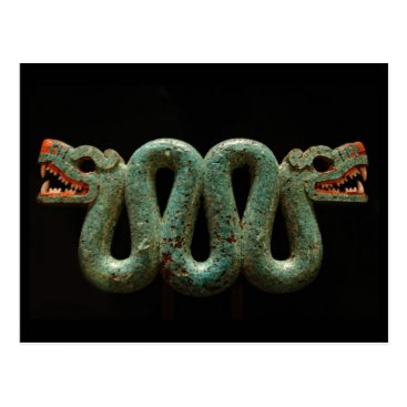 Aztec Themed Postcard: Aztec serpent Postcard
