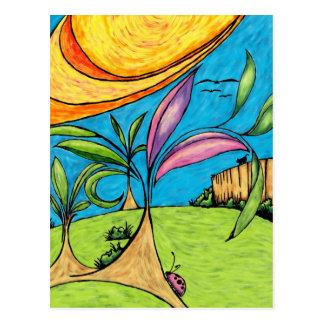 Postcard, Backyard Summer Fun Postcard