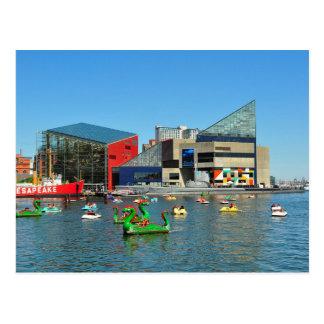 Postcard Baltimore National Aquarium, the USA