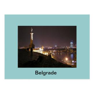 postcard Belgrade monument winner