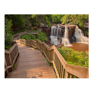 Postcard Blackwater Falls State Park West Virginia