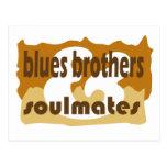 postcard: Bluesbrothers & Soulmates Wenskaart