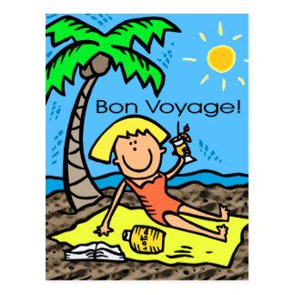 Postcard: Bon Voyage