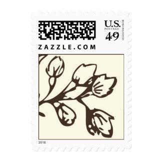 postcard brunch stamp