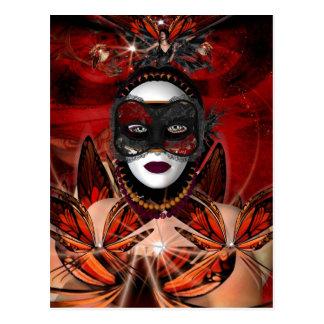 Postcard Butterfly Queen