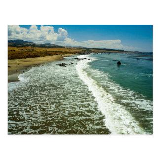 Postcard California beach SB