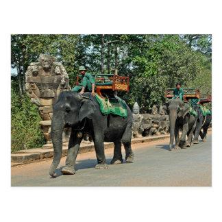 Postcard Cambodia, Angkor Thom