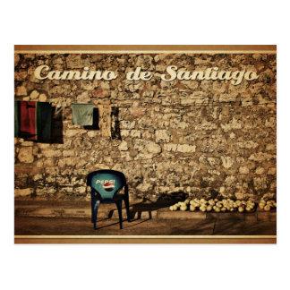 postcard Camino de Santiago