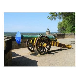 Postcard - cannon fodder