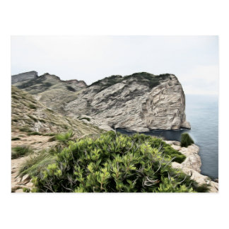 Postcard Cap de Formentor, Mallorca Postal