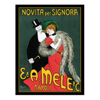 Postcard:  Cappiello Advertising Art Postcard