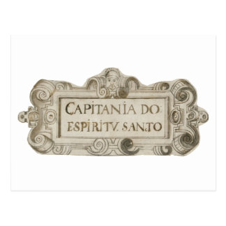 Postcard: Captainship of the Espiritu Santo, here. Postcard