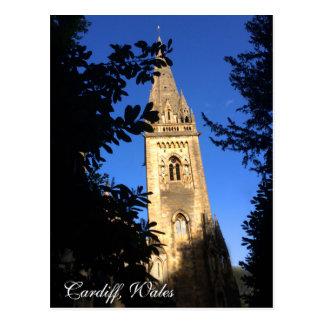 Postcard - Cardiff, Wales, Llandaff Cathedral