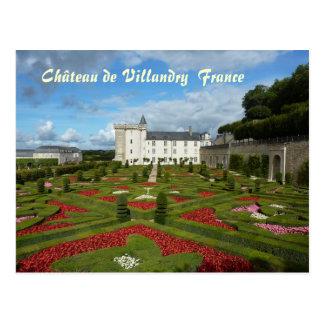 POSTCARD - Château de Villandry France