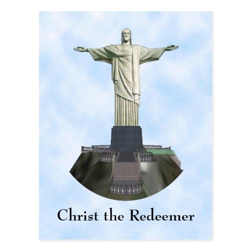Postcard: Christ the Redeemer Statue