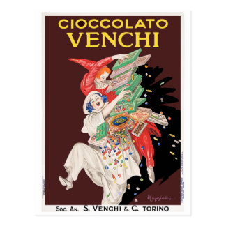 Postcard: Cioccolato - Chocolates Postcard