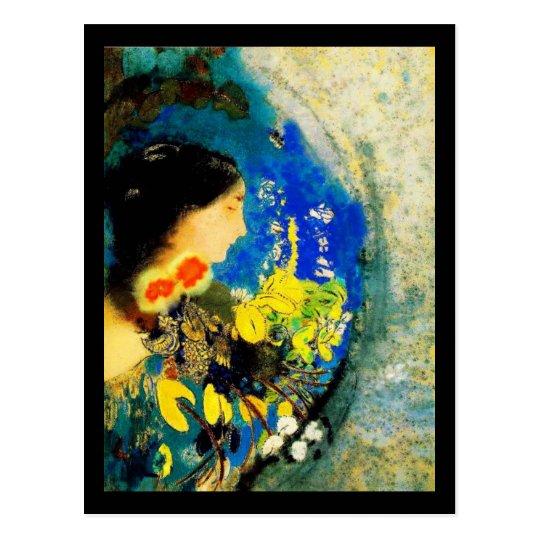 Postcard-Classic Art-Redon 20 Postcard