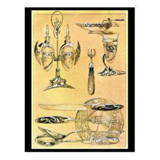 Postcard-Classic/Vintage-Alphonse Mucha 73 Postcard