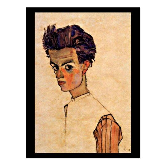 Postcard-Classic/Vintage-Egon Schiele 5 Postcard