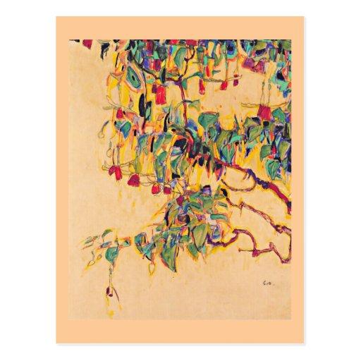 Postcard-Classic/Vintage-Egon Schiele 6 Postcard