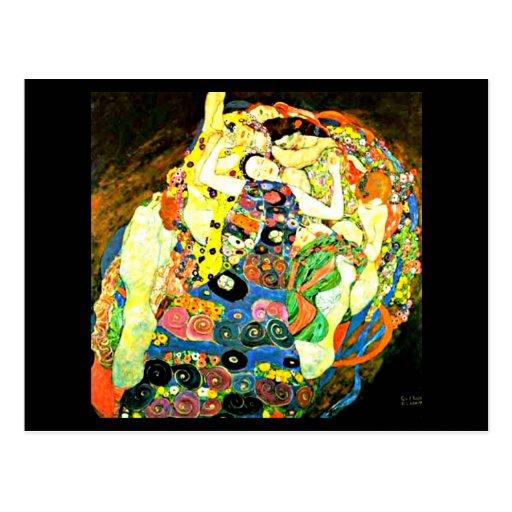 Postcard-Classic/Vintage-Gustav Klimt 15