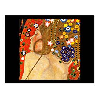 Postcard-Classic/Vintage-Gustav Klimt 6