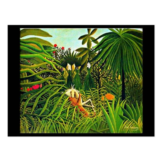 Postcard-Classic/Vintage-Henri Rousseau 27 Postcard