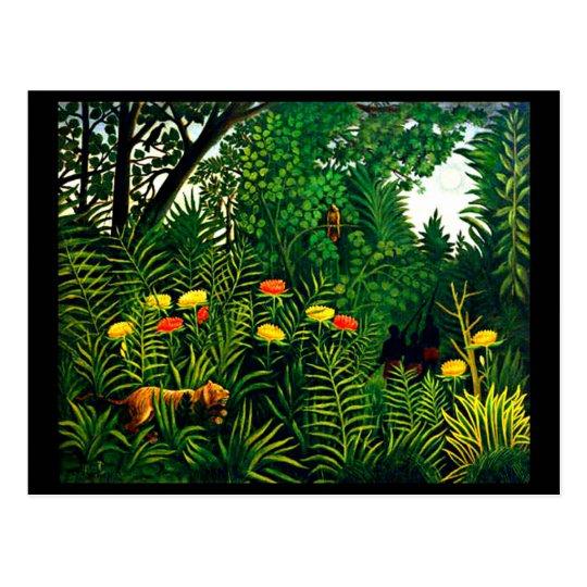 Postcard-Classic/Vintage-Henri Rousseau 8 Postcard