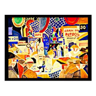 Postcard-Classic/Vintage-Rafael Barradas 13 Postcard