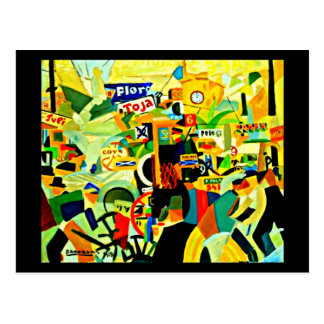 Postcard-Classic/Vintage-Rafael Barradas 2 Postcard