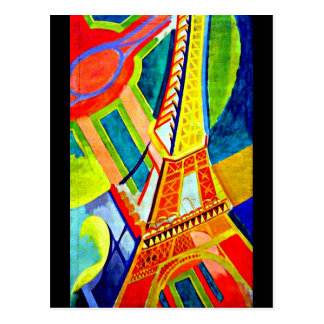Postcard-Classic/Vintage-Robert Delaunay 16 Postcard