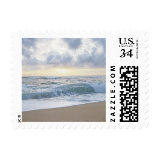 Postcard Clear Beach Day Postage