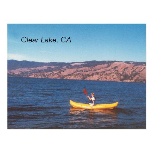 Postcard Clear Lake, CA