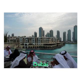 POSTCARD - Coffee time in Dubai