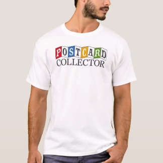 Postcard Collector T-Shirt (4 colors)