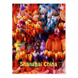 POSTCARD - Colorful Chinese Trinkets Shanghai