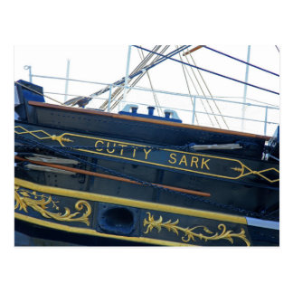 Postcard Cutty Sark Ship' s Emblem, London