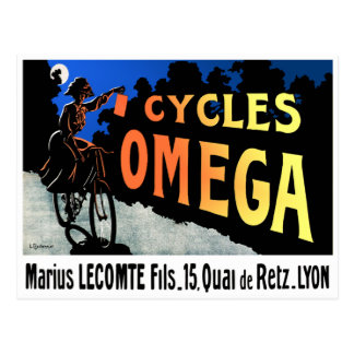 Postcard: Cycles Omega Postcard