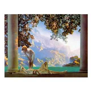 Postcard: Daybreak -  Maxwell Parrish Postcard