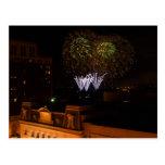 Postcard: Dayton Fireworks