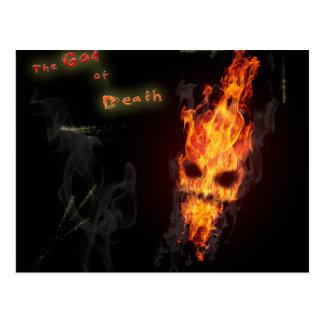 Postcard death's head