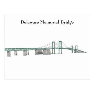 Postcard Delaware Memorial Bridge