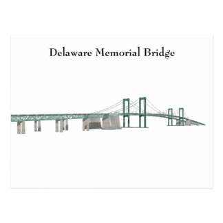 Postcard: Delaware Memorial Bridge Postcard