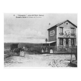 Postcard depicting a 'Panorama' near Antony
