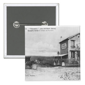 Postcard depicting a 'Panorama' near Antony Pinback Button