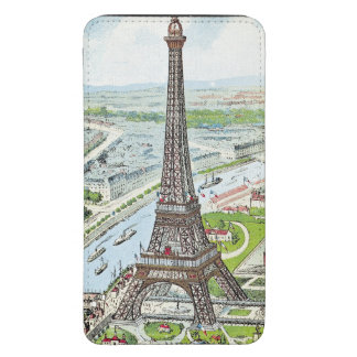 Postcard depicting the Eiffel Tower Galaxy S5 Pouch