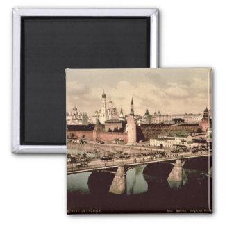 Postcard depicting the Kremlin, Moscow Fridge Magnet